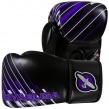 Перчатки боксерские Hayabusa Ikusa Charged 10oz Gloves-Black/Purple