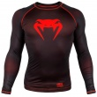 Рашгард Venum Contender 3.0 Black/Red L/S